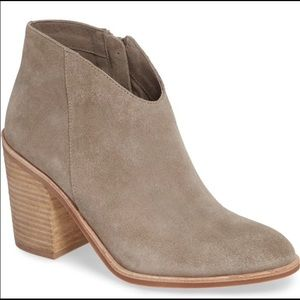 Jeffrey Campbell LASzLO taupe gray ankle boots